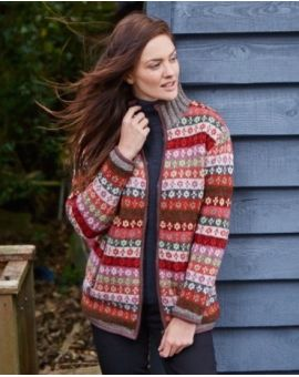 Fleece Lined Bloomsbury Jacket - Warm