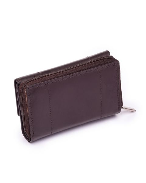 Brown Leather Purse Purses