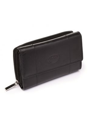 Black Leather Purse Purses