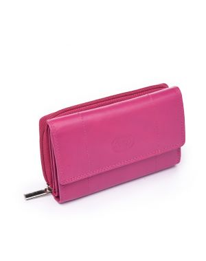 Pink Leather Purse Purses