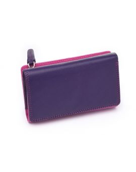 Pink Leather Purse - Bora Purses