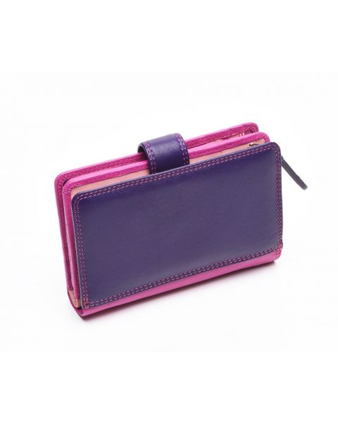 Pink Leather Purse - Fiji Purses