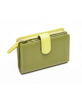 Green Leather Purse - Fiji Purses