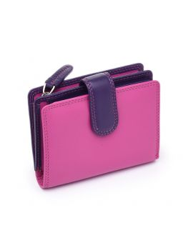 Pink Leather Purse - Bali