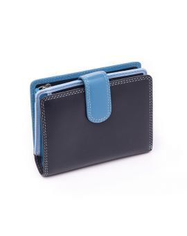 Blue Leather Purse - Bali