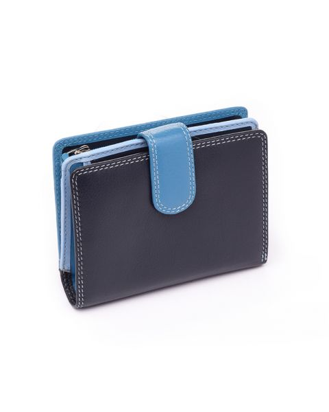 Blue Leather Purse - Bali Purses
