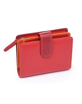 Red Leather Purse - Bali Purses