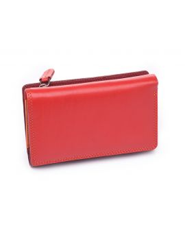 Red Leather Purse - Bora Purses