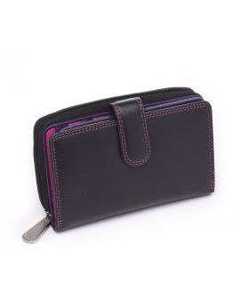 Black Leather Purse - Rio Purses
