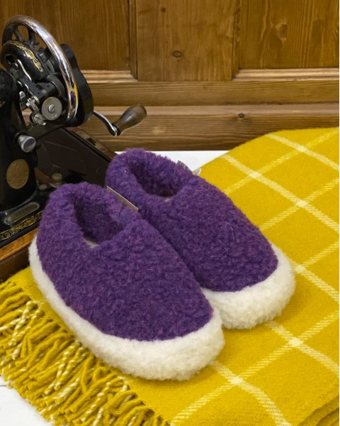 Merino Wool Slippers Siberian