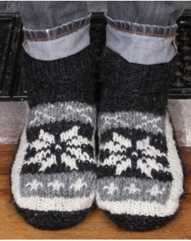Mens Slippers Socks Footwear