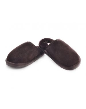 Mens Sheepskin Mule Slippers - Daniel Footwear