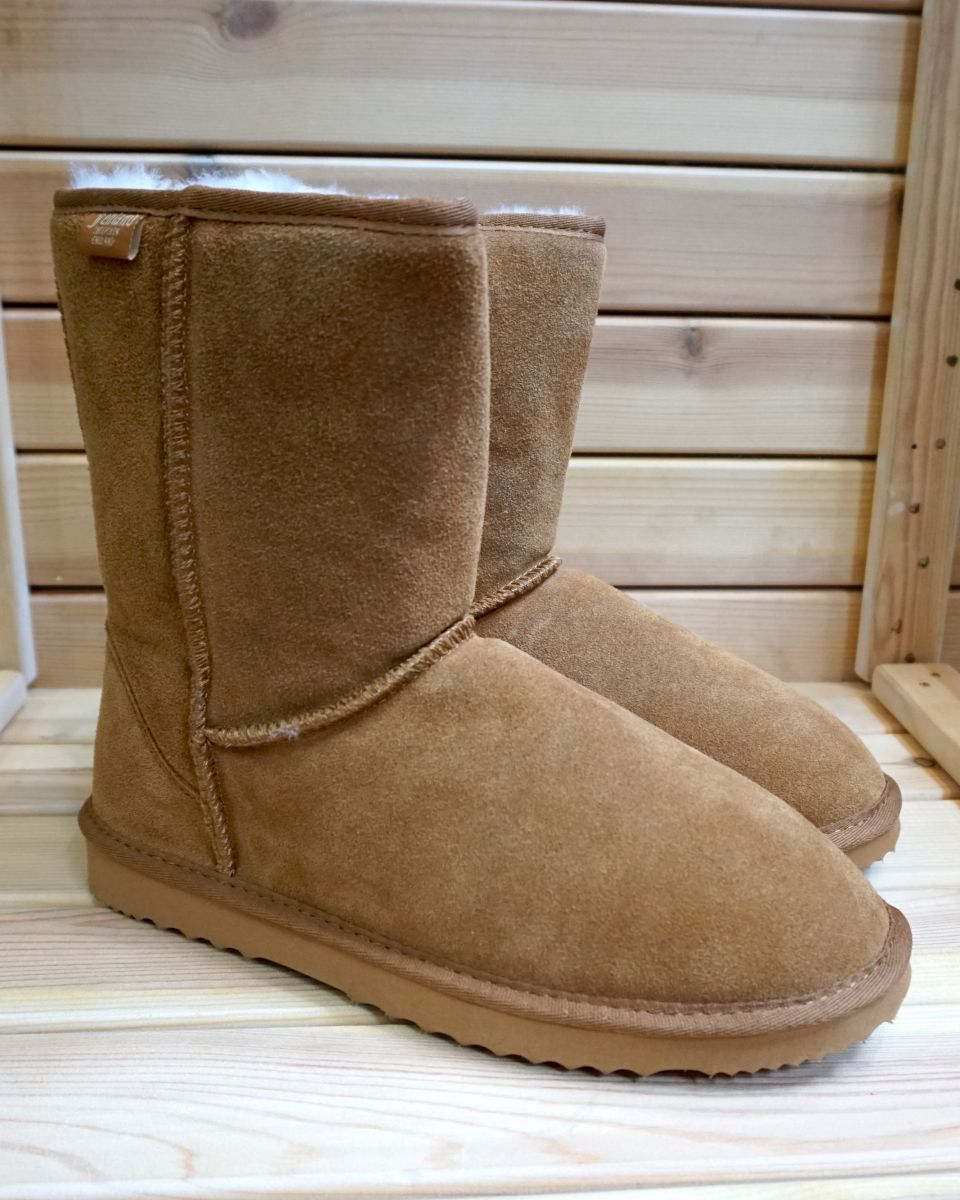 281d119fb60 Mens Short Sheepskin Boots