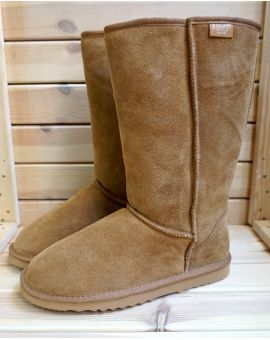 Mens Tall Sheepskin Boots