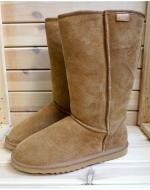 Mens Tall Sheepskin Boots Footwear