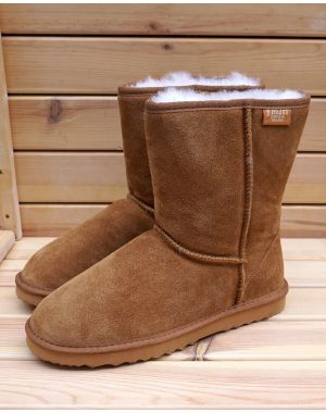 Ladies Short Sheepskin Boots Sheepskin Boots