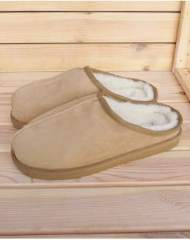 Sheepskin Mule Slippers - Wills Footwear