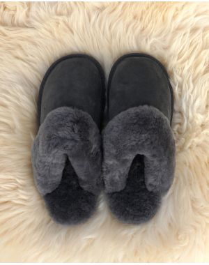Ladies Sheepskin Mule Slippers - Chloe Mule Slippers