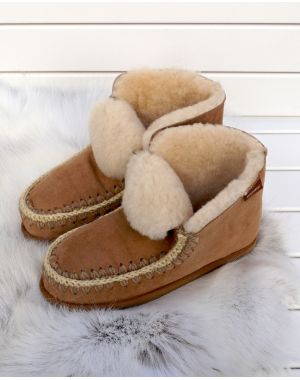 Sheepskin Boot Slippers - Pia Footwear