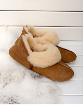 Sheepskin Slippers - Nina Footwear