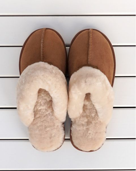 Sheepskin Mule Slippers - Kim Mules