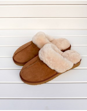 Sheepskin Mule Slippers Kim Footwear