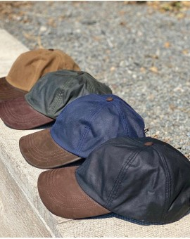 Wax Baseball Cap Mens