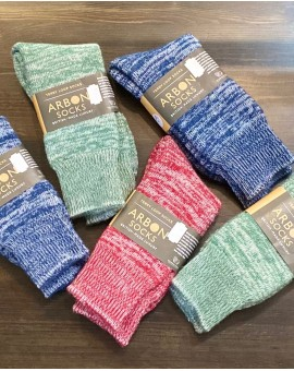 Alpaca Terry Loop Walking Socks