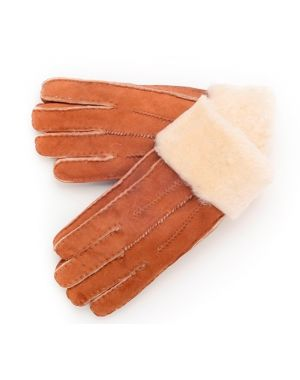 Tan Sheepskin Gloves - Poppy Gloves