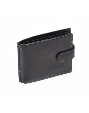 Black Leather Wallet - Liam Wallets