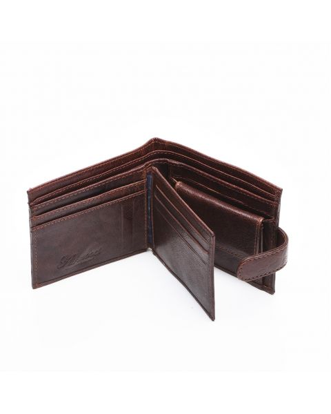 Tan Leather Wallet - Liam Wallets