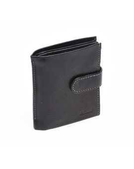 Black Leather Wallet - Dylan