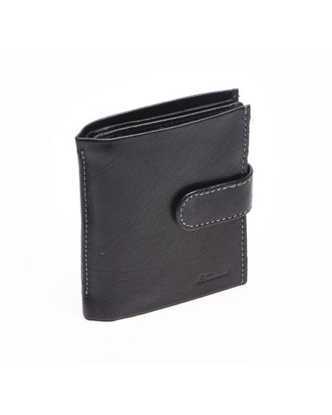 Black Leather Wallet - Dylan Wallets