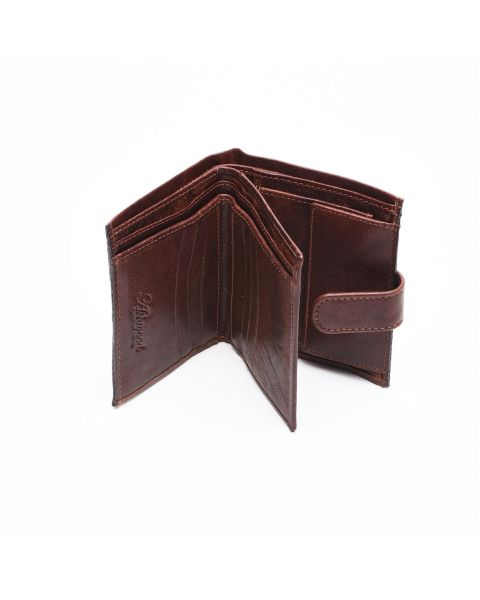 Tan Leather Wallet - Dylan Wallets