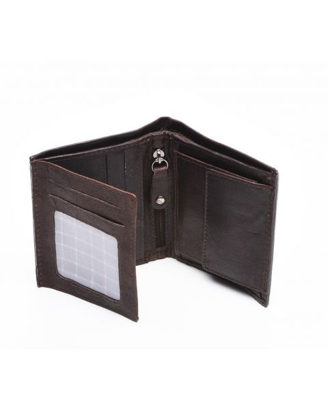 Brown Leather Wallet - Lucas Wallets