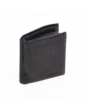 Black Leather Wallet - Lucas Wallets