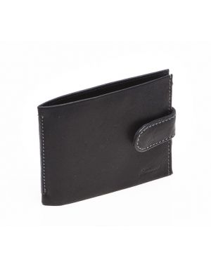 Black Leather Wallet - Jamie Wallets