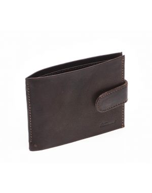 Brown Leather Wallet - Jamie Wallets