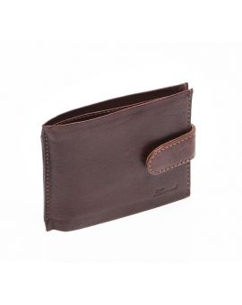 Tan Leather Wallet - Jamie