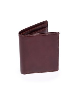 Brown Leather Wallet - Milan Wallets