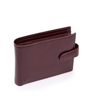 Brown Leather Wallet - Rome Wallets