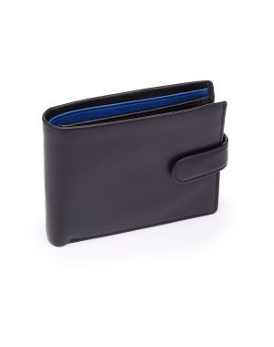 Black Leather Wallet - Vincent Wallets