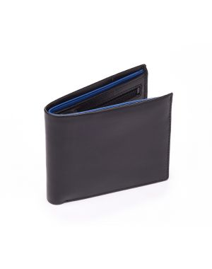 Black Leather Wallet - Pablo Wallets