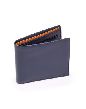 Blue Leather Wallet - Pablo Wallets