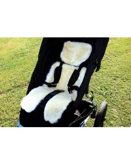 Bowron Sheepskin Stroller Fleece