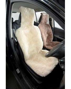 Sheepskin Car Seat Cover - Natural Car Accessories