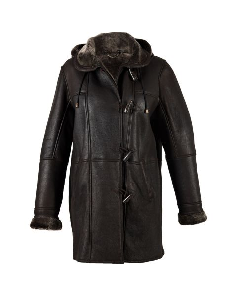 Snow Tip Sheepskin Duffle Coat Coats