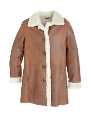 Sheepskin Car Coat Coats