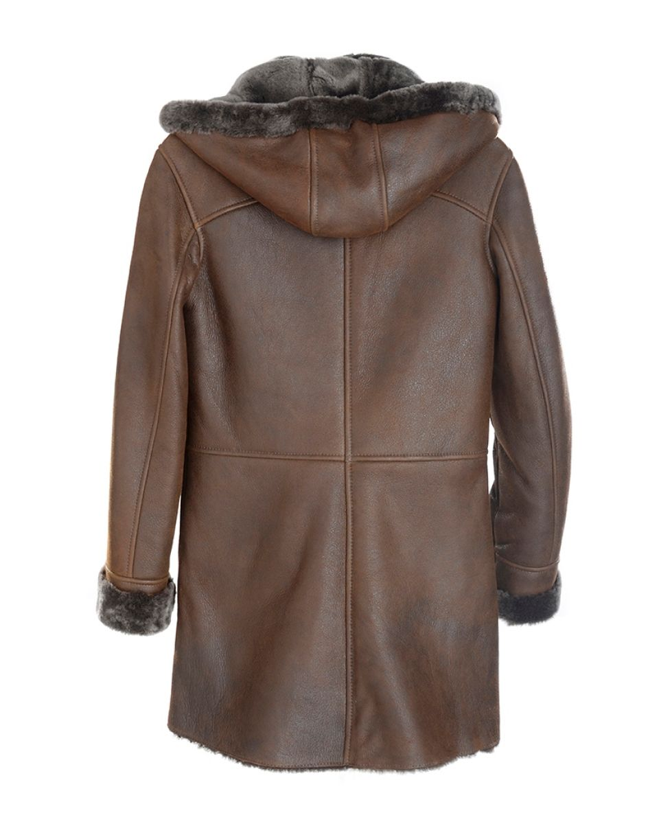 Sheepskin Duffle Coat