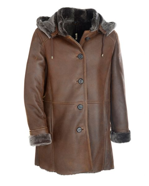 Sheepskin Duffle Coat Coats